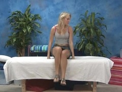 Hawt Eighteen year old angel acquires screwed hard from behind by her massage therapist